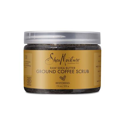 Raw Shea Butter Ground Coffee Scrub Restoring