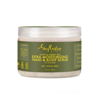 Olive & Green Tea Hand & Body Scrub