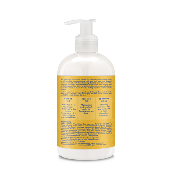 Baobab & Tea Tree Oils Low Porosity Protein-Free Conditioner