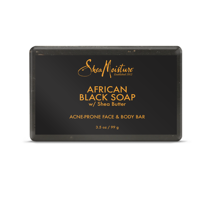 African Black Soap Acne Prone Face & Body Bar