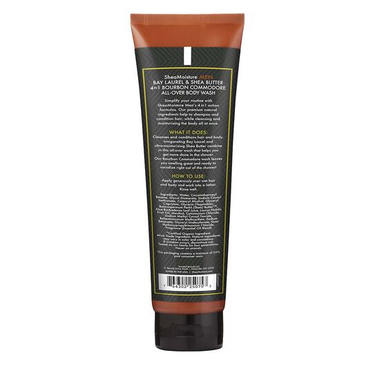 Bay Laurel & Shea Butter Bourbon Commodore 4in1 All-Over-Wash