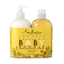 Raw Shea Chamomile & Argan Oil Baby Bundle Wash & Shampoo + Lotion