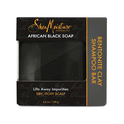 African Black Soap Bentonite Clay Shampoo Bar
