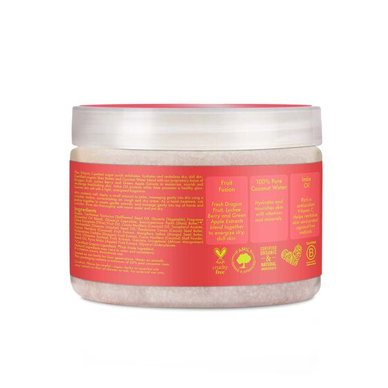 Fruit Fusion Coconut Water Energizing Hand & Body Scrub