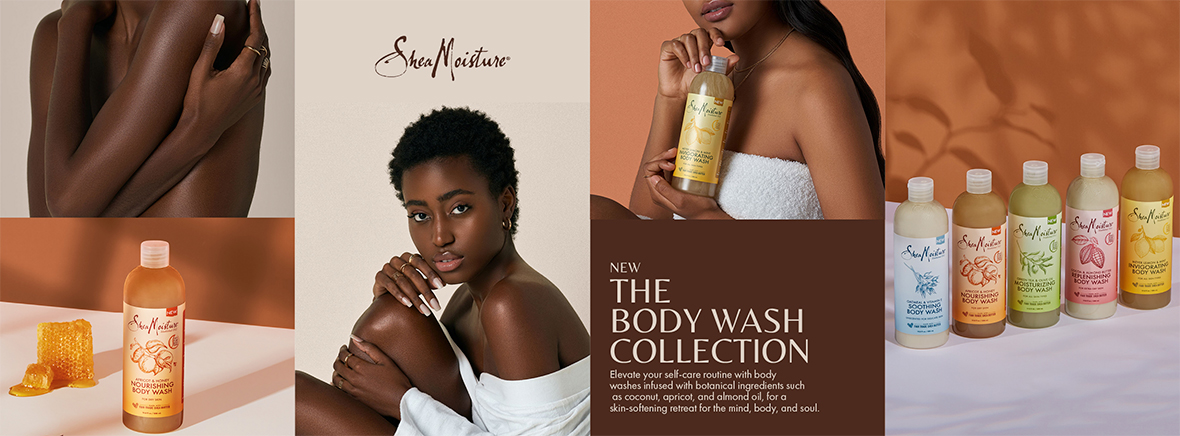 SheaMoisture Body Wash Collection