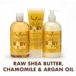 Raw Shea Butter, Chamomile & Argan Oil