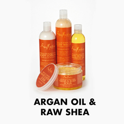 Argan Oil & Raw Shea