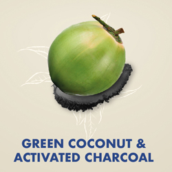 Green Coconut & Activated Charcoal